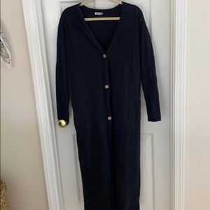 Free People Out and About Cardi Duster Cardigan
